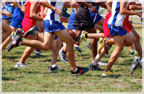 Cross country runners (this photo is part of a slideshow that requires Adobe Flash Player - click to download it)